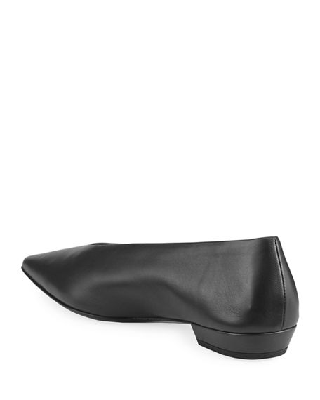 Image 4 of 4: Bottega Veneta Almond Flats