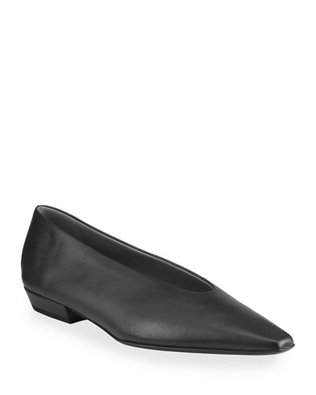 Image 1 of 4: Bottega Veneta Almond Flats