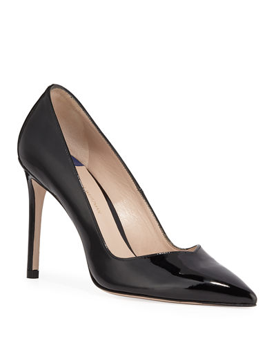 Stuart Weitzman Anny Patent Leather Stiletto Pumps