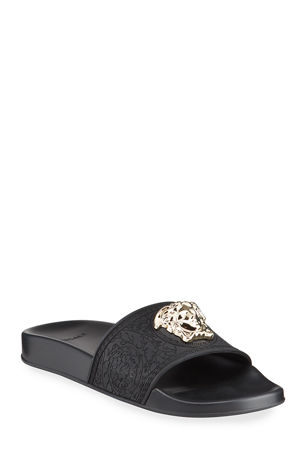 Versace Medusa Pool Slide Sandals