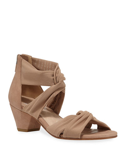 Joy Knotted Zip Sandals