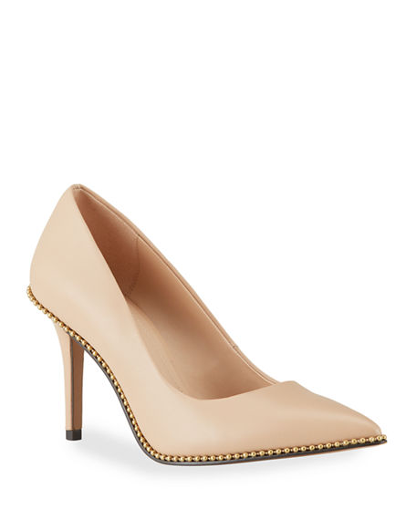 Coach Waverly Bead-Chain Pumps