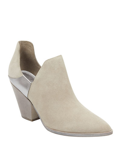 Cathy Suede Notched Boots