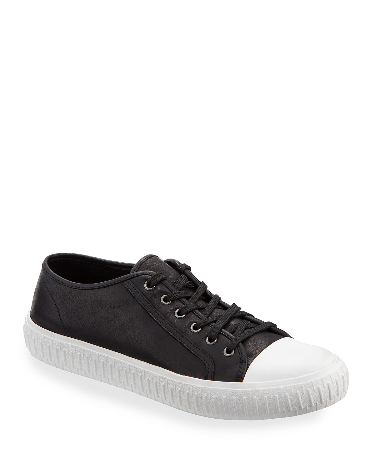 Eileen Fisher Sneakers NOD LOW-TOP LEATHER SNEAKERS
