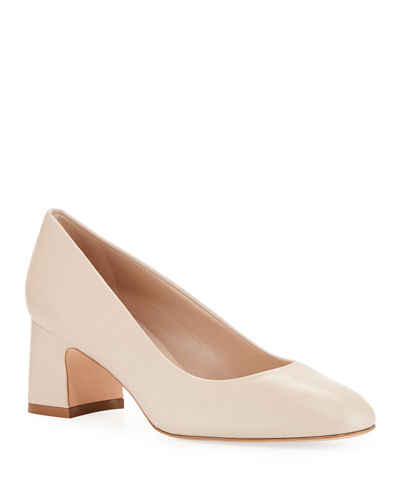 Mary Ann Leather Pumps