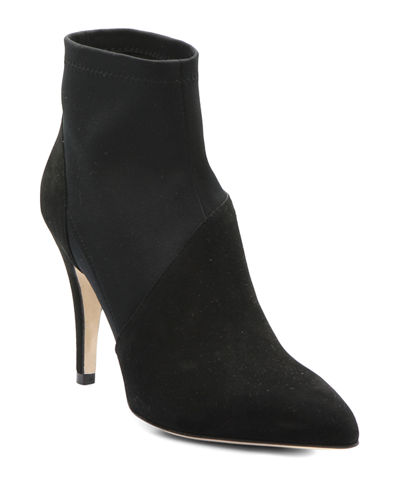 Soft Kid Suede Ankle Booties