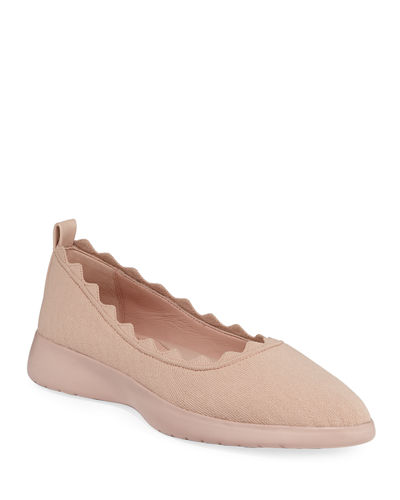 Dasha Knit Slip-On Ballet Flats