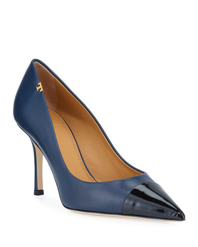 Penelope Two-Tone 85mm Pumps