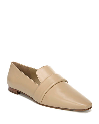 Adaline Flat Leather Loafers