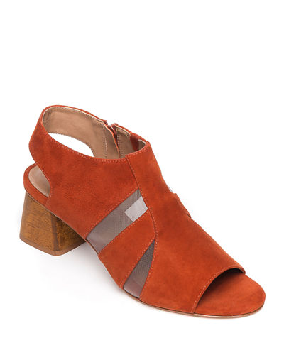Bailey Suede and Mesh Booties