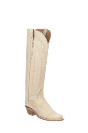 Lucchese Priscilla Western Knee Boots (Made to Order)