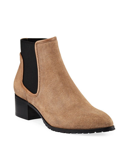 Dyla Suede Gored Booties