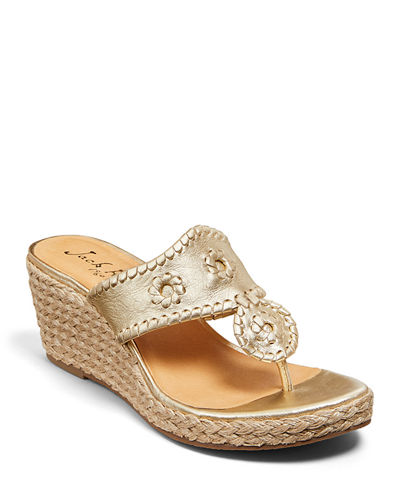 Jacks Wedge Espadrille Sandals
