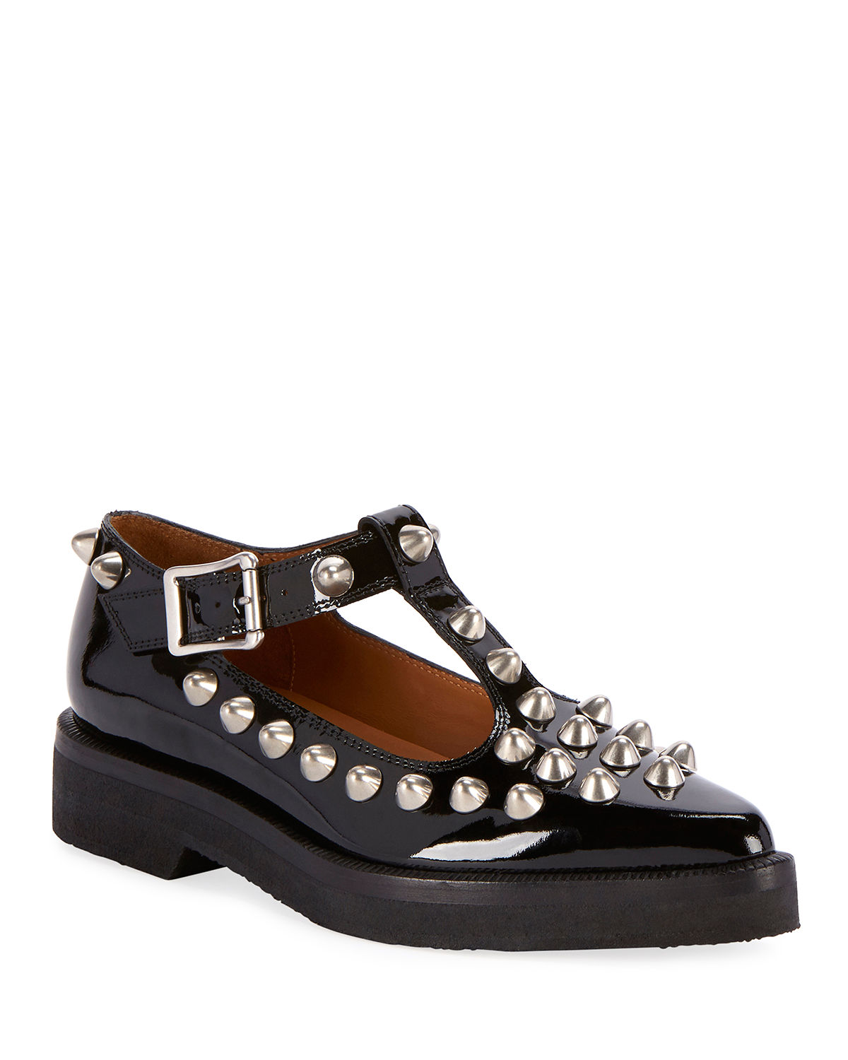 The Mary Jane Studded Flats by Marc Jacobs