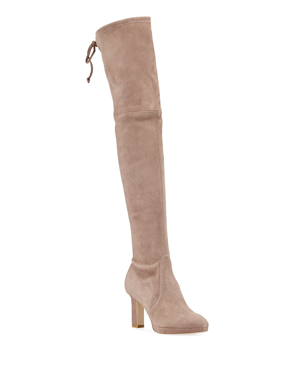 4bb0b6d9d Ledyland Suede Over-The-Knee Boots