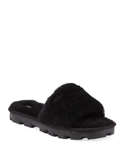 Cozette Shearling Slide Slippers