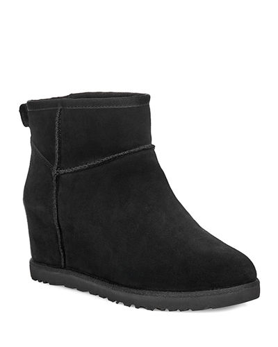 Classic Femme Mini Wedge Booties