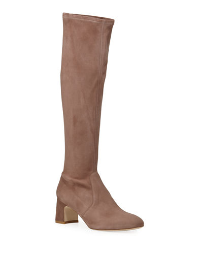 Milla Suede Knee Boots