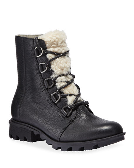 Sorel Phoenix Short Waterproof Combat Boots