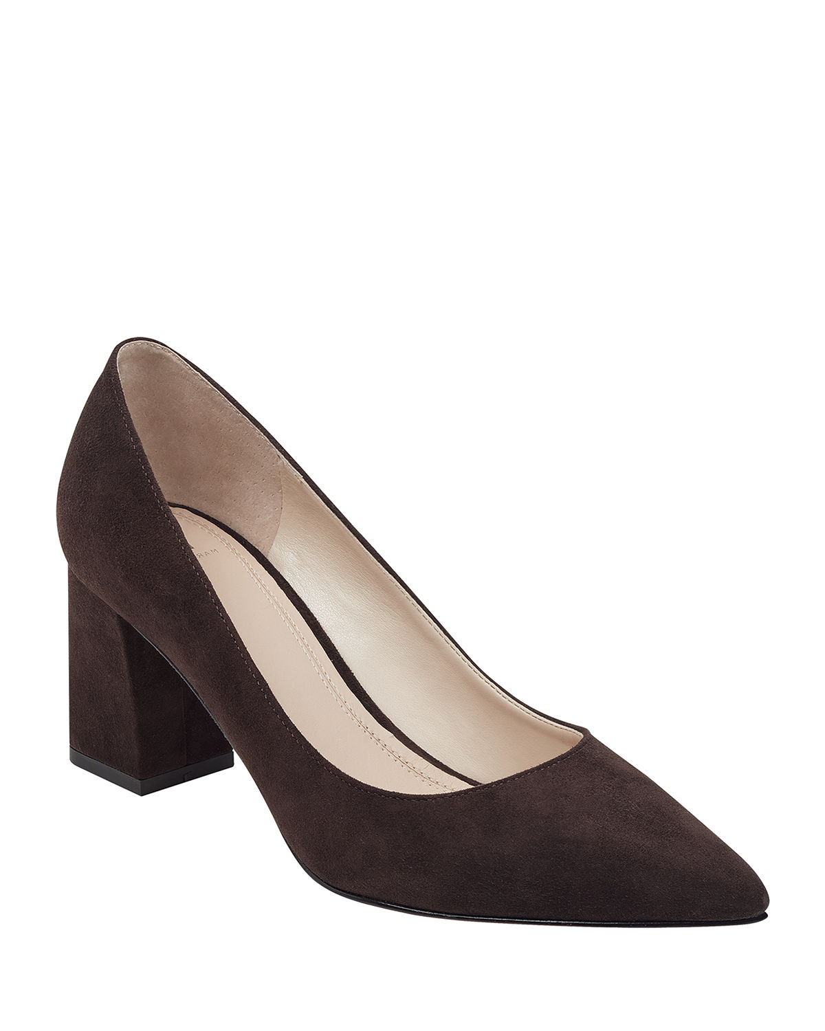 Zala Patent Pointed Pumps