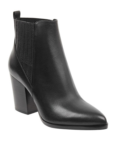 Alva Suede Pleated Chelsea Booties