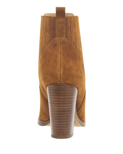 Marc Fisher LTD Alva Suede Pleated Booties