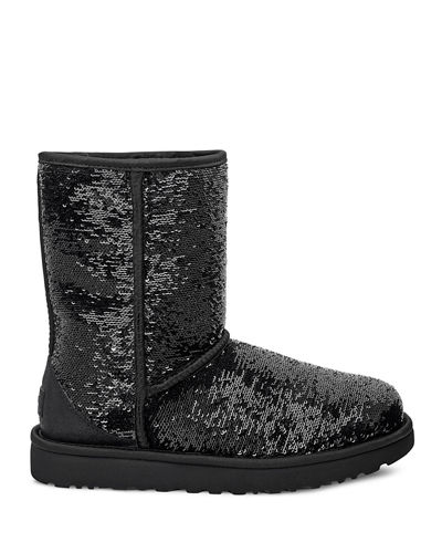 Classic Short Cosmos Sequin Boots