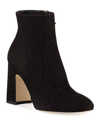 Nell Suede Booties