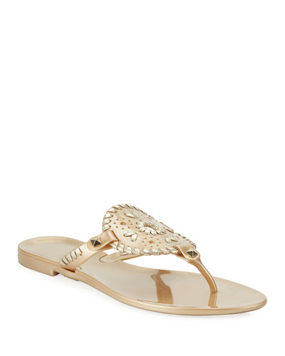 Georgica Jelly Thong Sandals