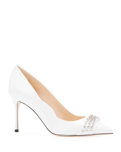 Marlyn Embellished Calf Pumps