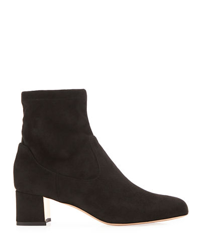 Marion Parke Tatum Suede Ankle Booties