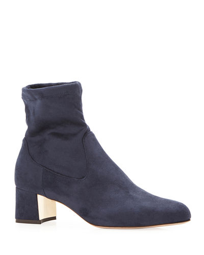 Tatum Suede Ankle Booties