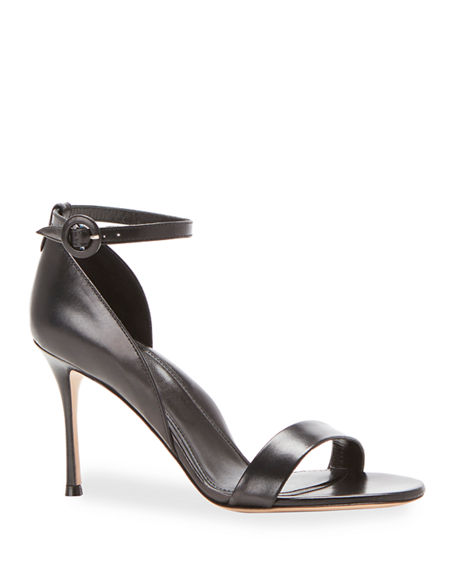 Marion Parke Larkspur Leather Ankle Strap Sandals