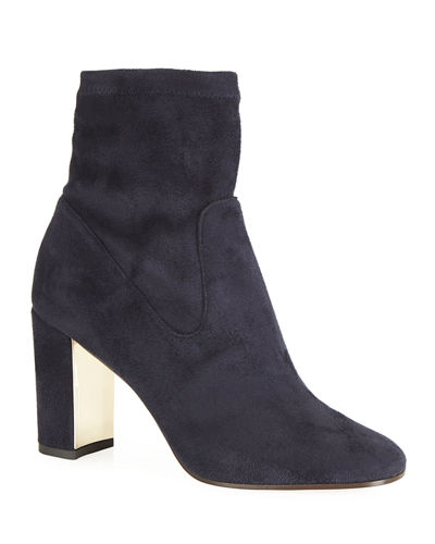 Kate Stretch Suede Booties