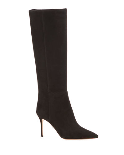 Marion Parke Marie Suede Knee Boots