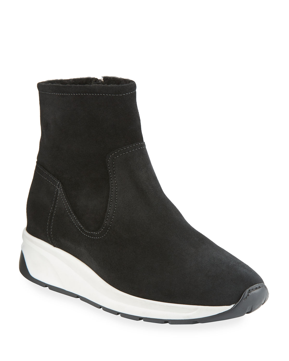Betty High-Top Sneakers with Shearling Lining