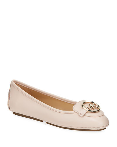 Lillie Sheep Leather Driver Flats