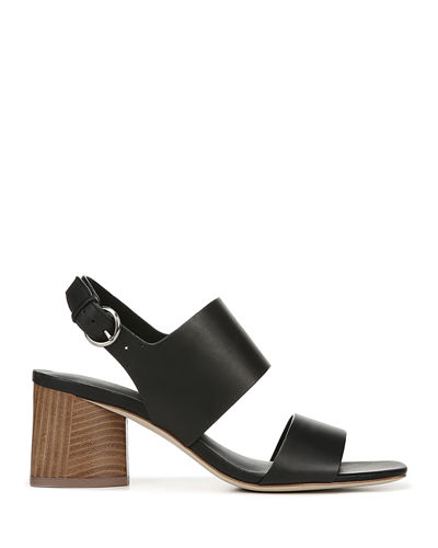Via Spiga Libby Block-Heel Sandals