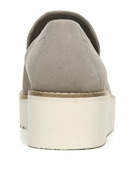 Image 4 of 4: Vince Zeta Suede Chunky Loafers