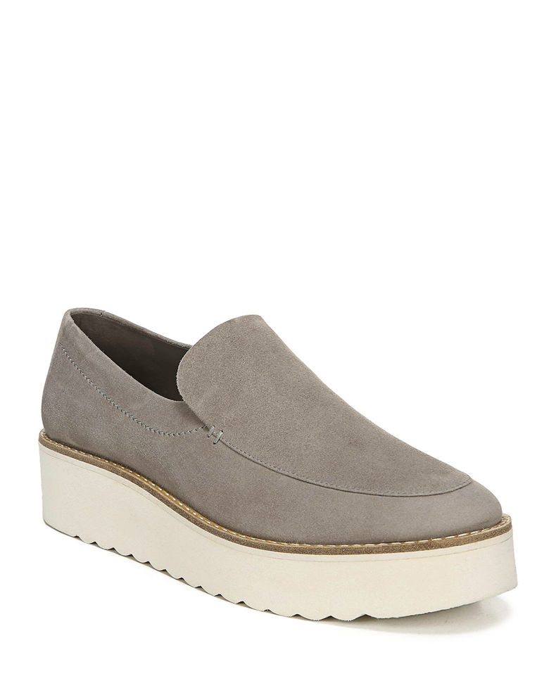 Vince Zeta Suede Chunky Loafers