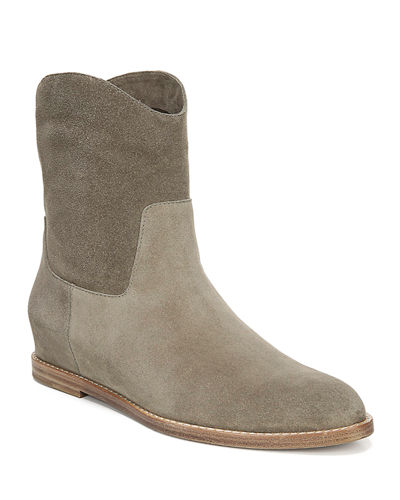 Sinclair Flat Suede Booties