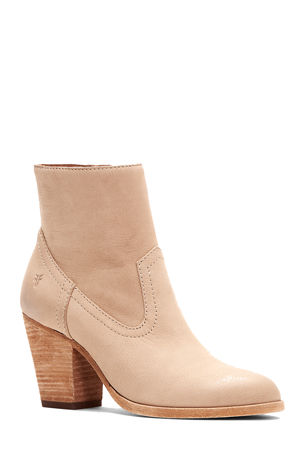 Frye Essa Brushed Leather Booties