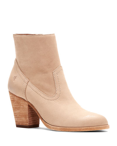 Essa Brushed Leather Booties