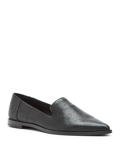 Kenzie Venetian Leather Flats
