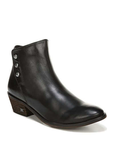 Paila Button Ankle Booties