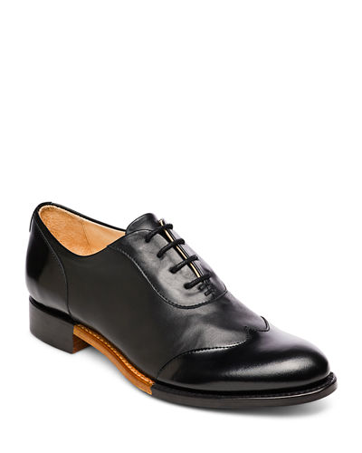 Mr. Evans Wing-Tip Oxford  Black