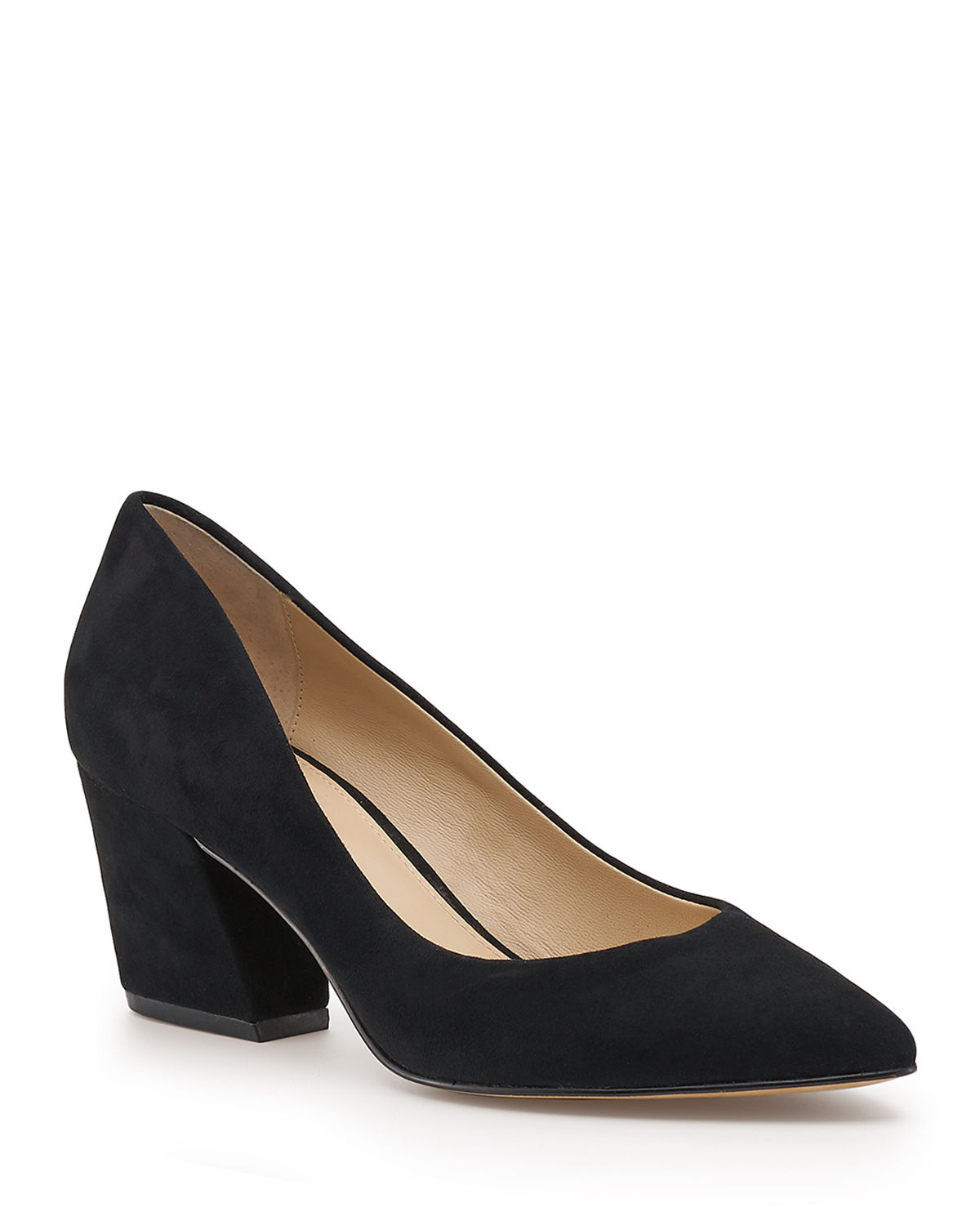 Stella Suede Low Pumps