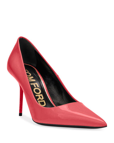 Patent Leather Pointed Pumps