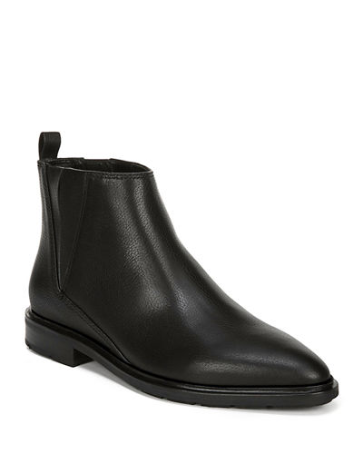 Emelin Water-Resistant Smooth Chelsea Booties