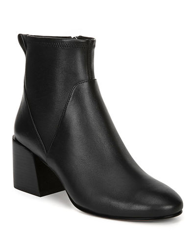 Diana Stretch Leather Booties